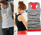 Cotton Singlet Sleeveless Tank Top t002