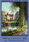 T88 Vintage French Tourlaville Travel Poster A1 A2 A3