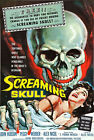 "F12 The Screaming Skull 1950's Horror B Movie Poster - A3 17""x12"