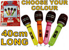 Inflatable Mic Microphone Fun Blow Up Fancy Dress Party Prop Rock Roll Singing