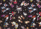 I Spy Cat Fabric Elvis Batman Robin Cowboy Chef Jazz Witch Devil Cats FQ Toss