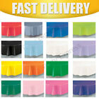 "Plastic Tablecover Table covers Cloth Cloths Round 84"" /213CMS ~~20 Colours"