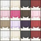 """Voile Plain Tied Blind Curtain Panels 