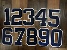 New York YANKEES Number KIT For Authentic AWAY JERSEY Choose Any Number 0-9