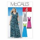 McCall's 6073 Sewing Pattern to MAKE Pullover Dresses chose of 3 lengths