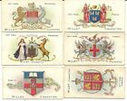 CIGARETTE CARDS. WILLS VARIOUS ARMS ISSUES 1903--1913