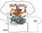 Pontiac GTO Wild Child Rat Fink T shirt, Big Daddy T Tee, Sz M L XL 2XL 3XL, New