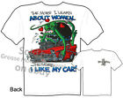 1956 Chevy Rat Fink T shirt Ed Roth Tee More I Learn 56 Belair Sz M L XL 2XL 3XL