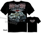Solo 1940 Willys T shirt Speed Shop Tee Hot Rod Tshirt Sz M L XL 2XL 3XL Quality