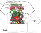 33 Willys Rat Fink T shirt Big Daddy Shirts Ed Roth Tee, Sz M L XL 2XL 3XL, New