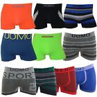 8er Pack UOMO Summer Edition Seamless Retroshorts Designmix stylish Boxershorts