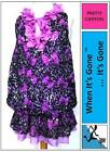 NEW GIRLS PETALS CHIFFON LEOPARD PRINT SEQUIN PARTY TOP DRESS 2-14 Yrs