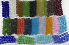 1 Strand of Frosted Matte SMALL NUGGET Beach Sea Glass Beads You Pick The Color!