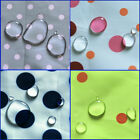 "WR WP OUTDOOR WATERPROOF WATER REPELLENT FABRIC UMBRELLA RAINCOAT POLKA DOT 60""W"