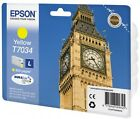 Genuine Epson T7034 / C13T70344010 Yellow Printer Ink Cartridge Big Ben