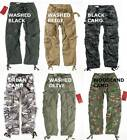 SURPLUS RAW VINTAGE AIRBORNE COMBAT CARGO PARATROOPER STYLE TROUSERS V / SIZES