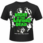 THE NIGHT OF THE LIVING DEAD Classic Vintage Film Poster T-SHIRT NEU