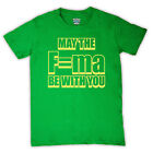 PHYSICS FORCE FORMULA EQUATION FUNNY SCIENCE SLOGAN RETRO T SHIRT ALL COL & SIZE