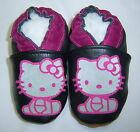 HELLO KITTY 7 colors soft soled leather baby shoes 0-6 mths to 6-7 yrs