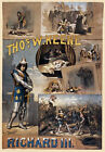 TH84 Vintage Richard III Theatre Poster Print A1 A2 A3