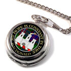 Macdonald of Clanranald Scottish Clan Pocket Watch