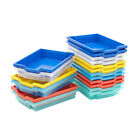 Gratnells Plastic Shallow Storage Trays School Nursery Office 7 Colours BiGDUG