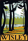 TR53 Vintage 1920's Wisley UK Travel Poster A1 A2 A3
