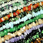 5-10mm Natural Chip Nugget Freeform Gemstone Beads 34