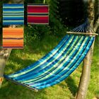 Outdoor Garden Canvas Hammock Swinging Hanging Camping Beach Travel Bed Lounger