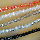 3mm Faceted Quartz Round Beads 100PCS Pick Color