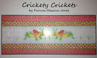 """Smocking Plate OR Kit """"Crickety Crickets"""" by Frances Messina Jones"""