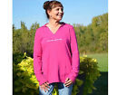 Corvette Hooded Womens Tunic - Chic Pink