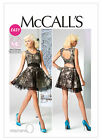 McCall's 6647 Prom/Evening Party Dress (Cup Sizes) w/ Back Detail Sewing Pattern