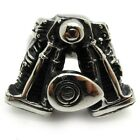 huge motor engine hot bike men's ring 316L Stainless Steel