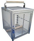 KINGS CAGES ALUMINUM PET TRAVEL CAGE ATT1214 bird silv toy toys african grey