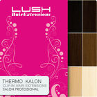 Clip In Thermo Kalon Fibre Hair Extensions - Synthetic