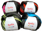 Katia Fluor Super Chunky Wool Yarn Hats Scarves Free Pattern 100g UK p&p offer