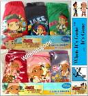 NEW JAKE & THE NEVERLAND PIRATES BRIEFS UNDERWEAR CLOTHING 1-5 YEARS