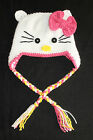 Handmade Crochet Baby/Toddler/Adult Hello Kitty Hat You Choose Size Photo Prop*
