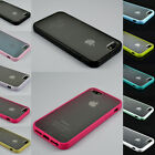 Bumper With Matte Clear Back Case Cover for Apple iPhone 5 / 5S / 5C