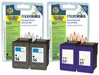 4 Remanufactured HP 56 / 57 Ink Cartridges for Photosmart 7655 Printer & more