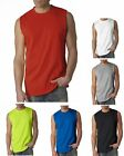 Peaches Pick NEW Mens Size S-2XL Cotton Sleeveless Muscle Sports Gym T-Shirt Tee