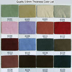 """0.6MM ULTRA MICROFIBER FAUX SUEDE CLOTH PATCH LINING NON FRAYED BLACK WHITE 54""""W"""