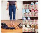 20Pockets Flower Shoe Holder Door Hanging Storage Organizer Closet Hanger Bag