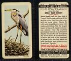 Brooke Bond Canada, Birds of North America 1962 VG (any from 1-24 list)