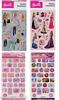 Collection of BARBIE STICKERS ~ Birthday PARTY Supplies Favors REWARD sheets