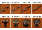 Aged Oil Rubbed Bronze Traditional Cabinet Hardware Knobs & Pulls