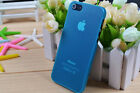 ULTRA THIN CRYSTAL MATTE  CASE COVER FITS APPLE IPHONE 5  5g  LIGHT BLUE