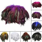 """100pcs Fluffy Fashion Rooster Feather Fringe Decoration Home Craft DIY 6-8"""""""