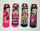 ONE pair Women's Betty Boop Slipper Sock